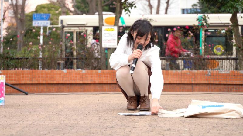 【4K/α7Ⅲ】松山あおい /アイドル 津田沼モリシア 野外ステージ 2020/01/25 ※松山あおいは当人より撮影許可出てます。 09:29