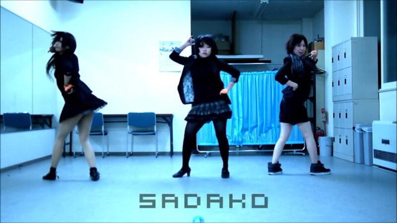 【ETTA】Perfume レーザービーム 踊ってみた【三度&Danろ&SADAKO】 00:10