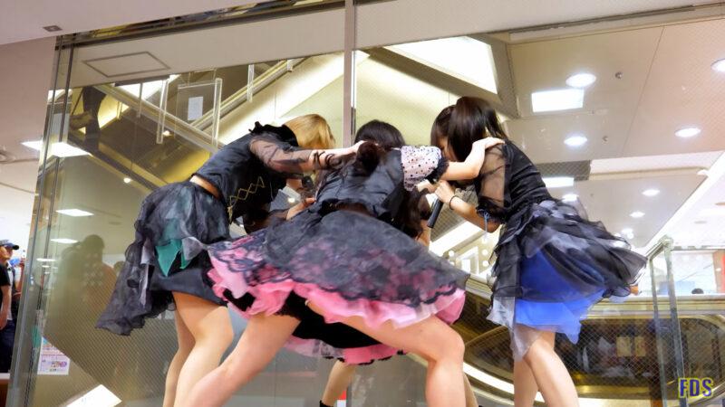 [4K] Happy3days 「プログレッシブ」 アイドル ライブ Japanese idol group 00:14