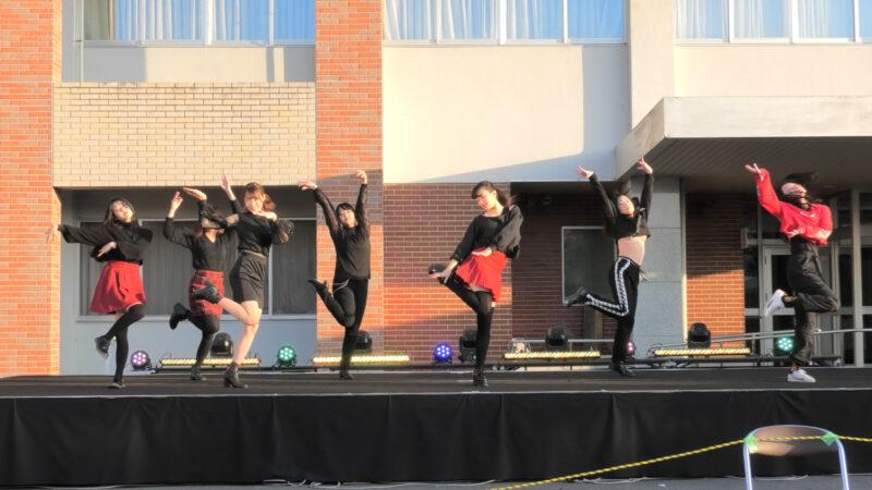 茨城大学のコピーダンスサークル「茨ダン」のブラチラ 00:30