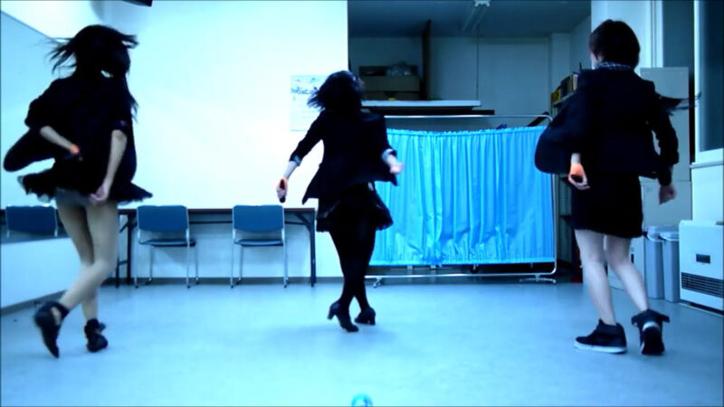 【ETTA】Perfume レーザービーム 踊ってみた【三度&Danろ&SADAKO】 00:44