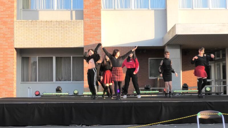 茨城大学のコピーダンスサークル「茨ダン」のブラチラ 00:55