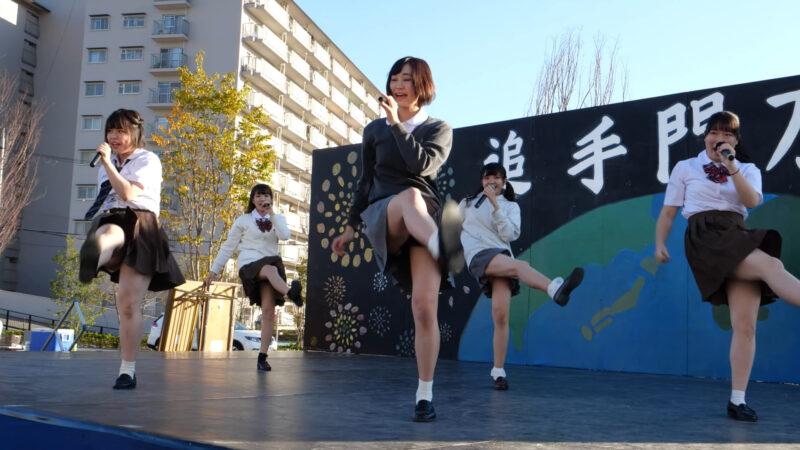 純白のアスター(追手門学院大学) 合同学園祭 2019/11/02 03:44