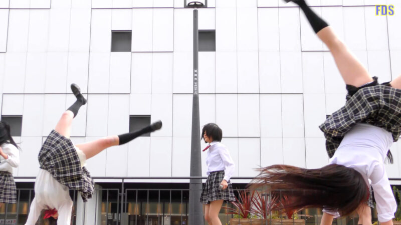 [4K] Culumi 「地獄大夫」 堺・泉州ご当地アイドル ライブ Japanese idol group 01:34