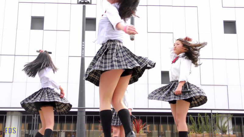 [4K] Culumi 「地獄大夫」 堺・泉州ご当地アイドル ライブ Japanese idol group 02:58