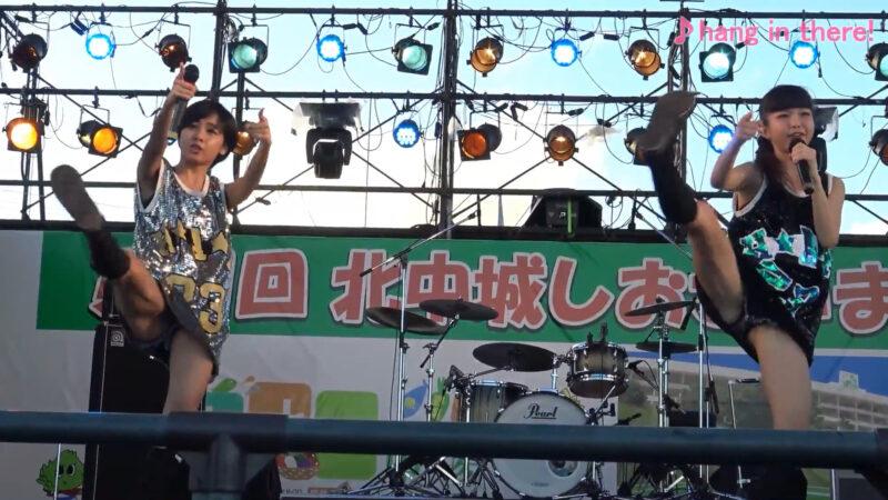 【沖縄発】リアルJKユニット WB 2016.10.16 北中城しおさいまつり 03:19
