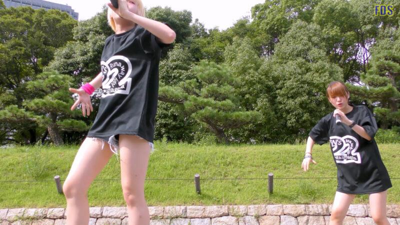 [4K] 自らお腹チラ見せするアイドル 「C.P.U !?」「PPCC」 城天 Japanese idol group 03:43