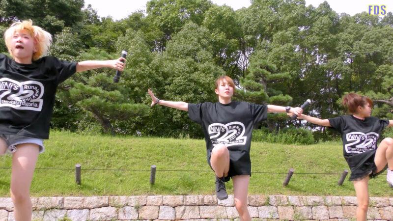 [4K] 自らお腹チラ見せするアイドル 「C.P.U !?」「PPCC」 城天 Japanese idol group 03:55