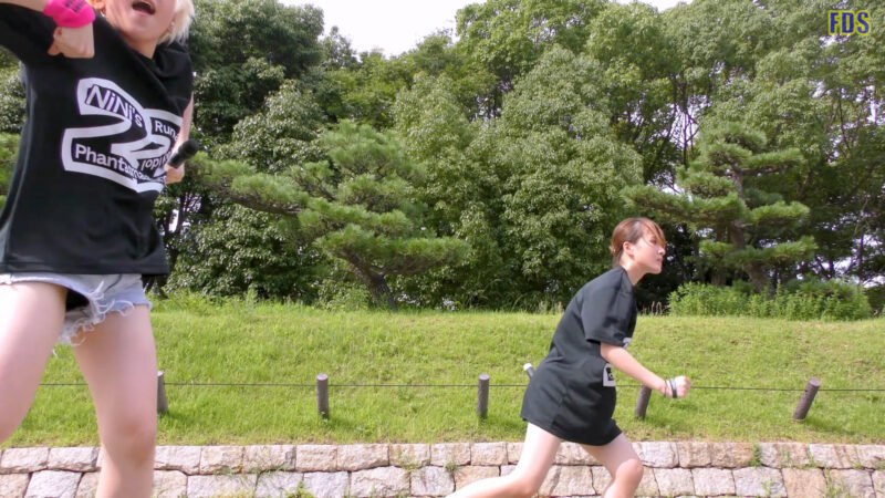 [4K] 自らお腹チラ見せするアイドル 「C.P.U !?」「PPCC」 城天 Japanese idol group 03:59