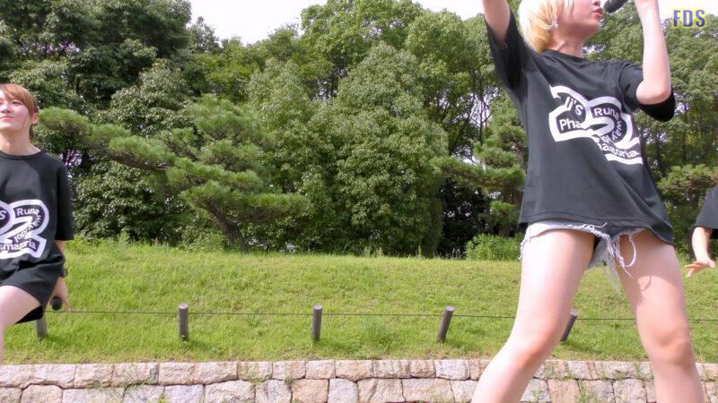 [4K] 自らお腹チラ見せするアイドル 「C.P.U !?」「PPCC」 城天 Japanese idol group 04:36