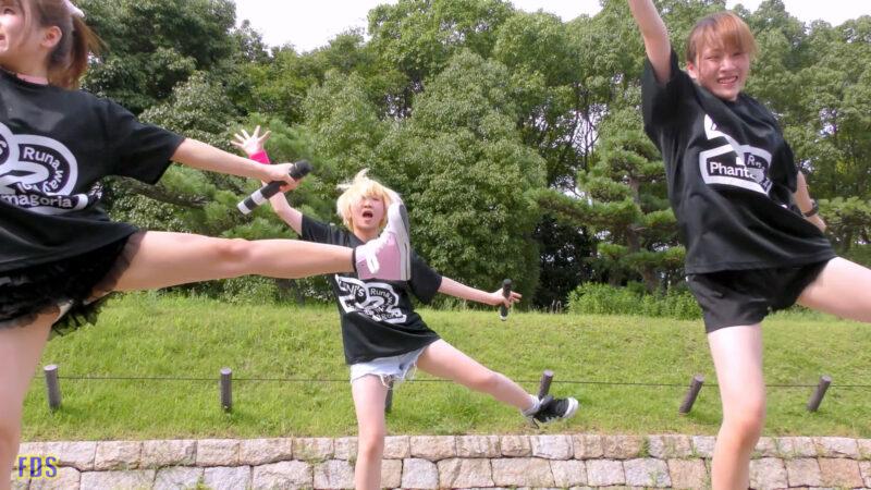 [4K] 自らお腹チラ見せするアイドル 「C.P.U !?」「PPCC」 城天 Japanese idol group 06:56