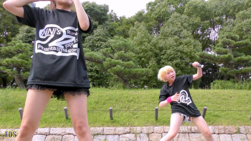 [4K] 自らお腹チラ見せするアイドル 「C.P.U !?」「PPCC」 城天 Japanese idol group 07:40