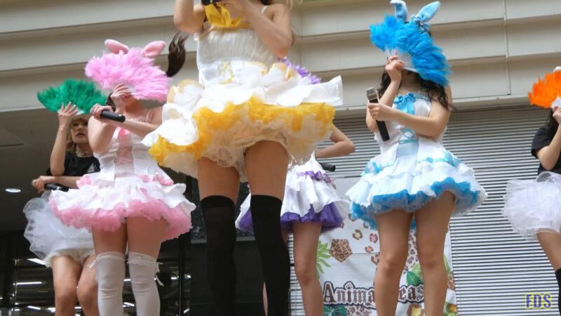 [4K] うさロイド 「さよならマスタード」 アイドル ライブ Japanese idol group 00:34