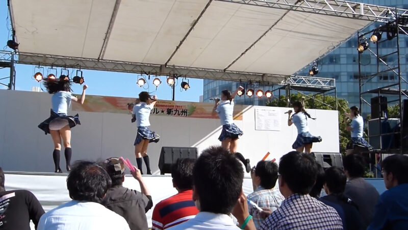 9/24 HR 九州ヒューマンフェスタ2011 「君にスパーク」 01:28