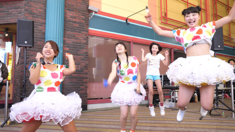 愛の葉Girls【虹色マジック】岡山ジョイポリス×IDOL合同定期公演 Vol.61 第一部 03:45
