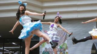 [4K] うさロイド 「青春スタンプ」 アイドル ライブ Japanese idol group 00:08