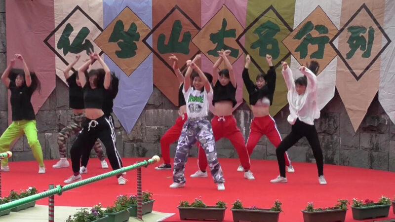 高松南高等学校ダンス部ダンスパフォーマンス⑤「高松秋祭り2019」 00:38