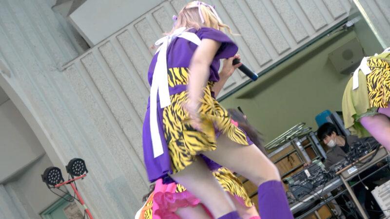 百鬼乙女 ステージに雑巾掛けあり 2020/12/19 アイドルキャンパス (idol campus vol.208) @上野公園水上音楽堂 02:16