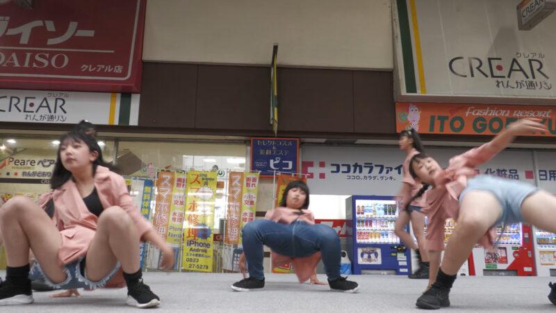 【4K60P】 Dream Star レンガストリートパフォーマンス ♪夜に駆ける/YOASOBI 02:20