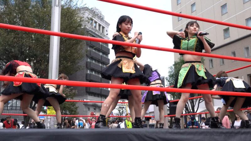 "【4K/a7Rⅲ】いちぜん!(Japanese idol group ""Ichizen!"")高円寺フェス2019 北口広場 2019年10月26日(土) 04:22"