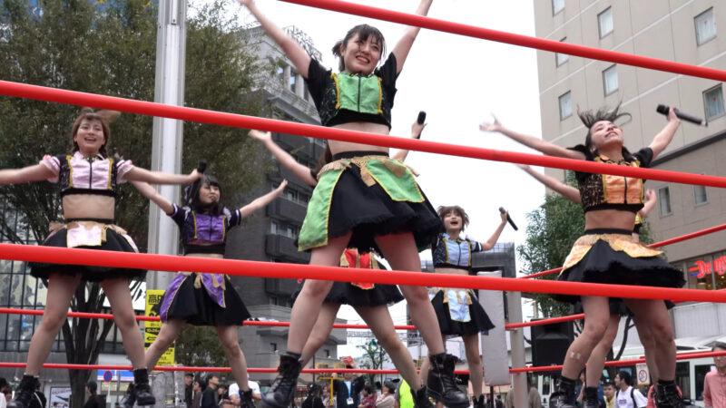 "【4K/a7Rⅲ】いちぜん!(Japanese idol group ""Ichizen!"")高円寺フェス2019 北口広場 2019年10月26日(土) 09:24"