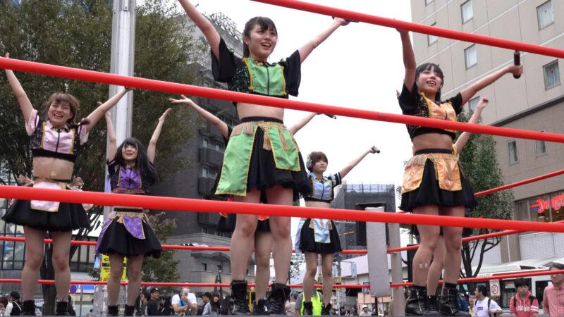 "【4K/a7Rⅲ】いちぜん!(Japanese idol group ""Ichizen!"")高円寺フェス2019 北口広場 2019年10月26日(土) 09:34"