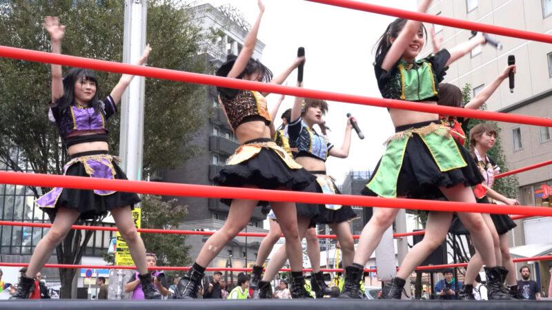 "【4K/a7Rⅲ】いちぜん!(Japanese idol group ""Ichizen!"")高円寺フェス2019 北口広場 2019年10月26日(土) 13:16"