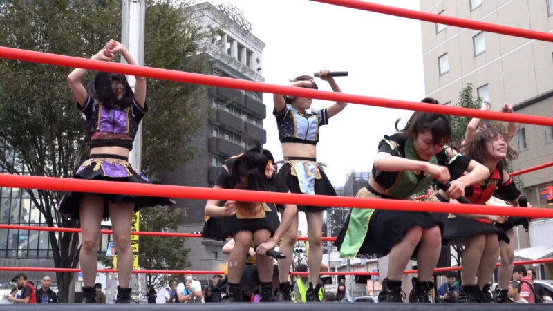 "【4K/a7Rⅲ】いちぜん!(Japanese idol group ""Ichizen!"")高円寺フェス2019 北口広場 2019年10月26日(土) 13:19"