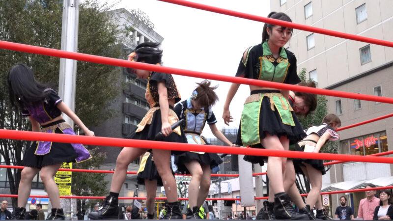 "【4K/a7Rⅲ】いちぜん!(Japanese idol group ""Ichizen!"")高円寺フェス2019 北口広場 2019年10月26日(土) 13:25"