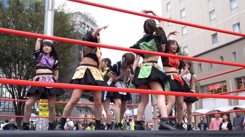 "【4K/a7Rⅲ】いちぜん!(Japanese idol group ""Ichizen!"")高円寺フェス2019 北口広場 2019年10月26日(土) 13:31"