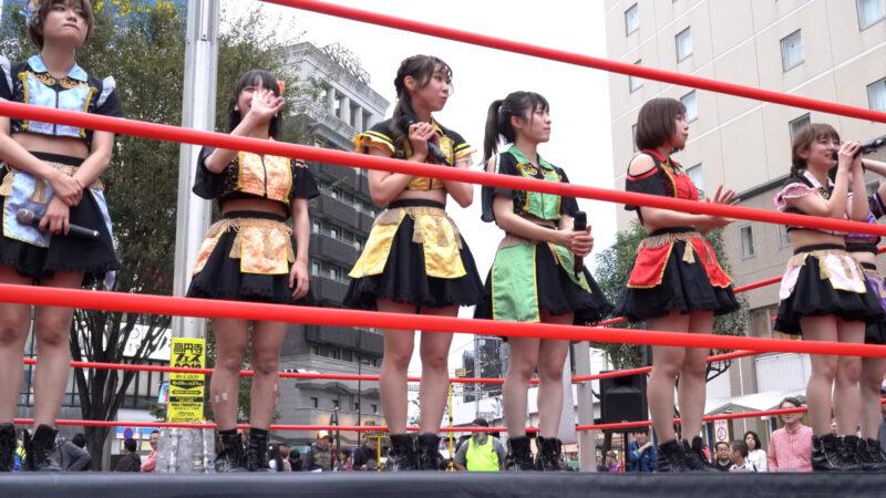 "【4K/a7Rⅲ】いちぜん!(Japanese idol group ""Ichizen!"")高円寺フェス2019 北口広場 2019年10月26日(土) 15:28"