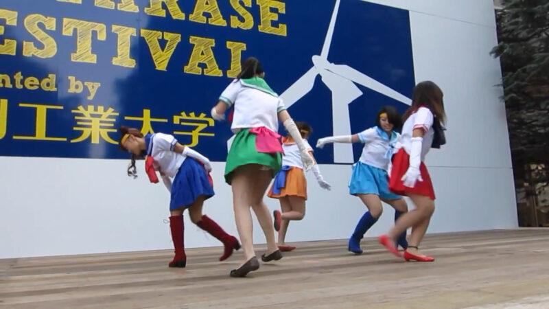 セーラームーン コスプレ ダンス 01:08