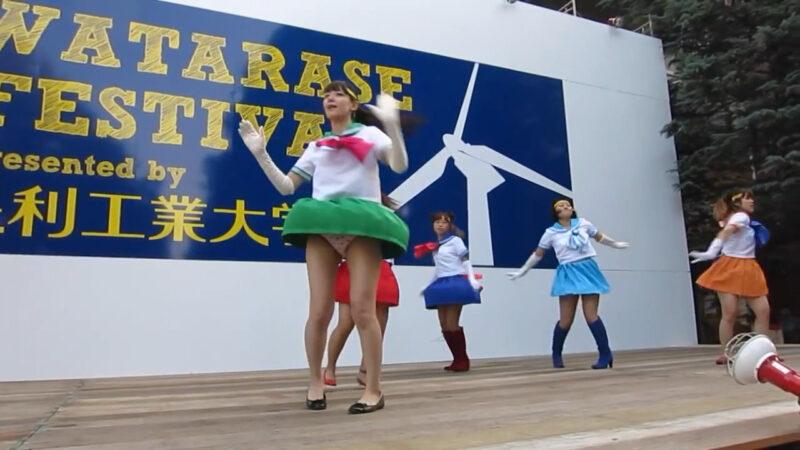 セーラームーン コスプレ ダンス 02:05