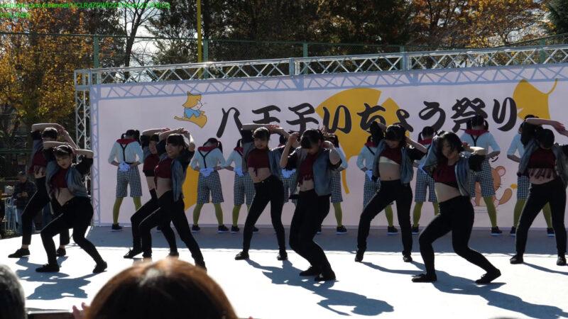 [4K 60p] 八王子東高校 ダンス部 - BO$$ 02:15