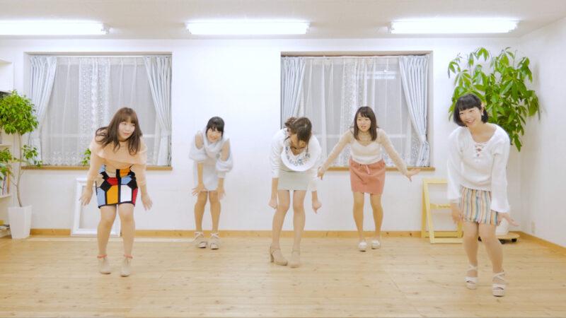 京都女子大学のアイドルコピーダンスサークル「CottonCandy」のブラチラ 03:32