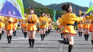京都橘高校 吹奏楽部 大江山酒呑童子祭り マーチングドリル (前半) Kyoto Tachibana SHS Band [4K] 07:01