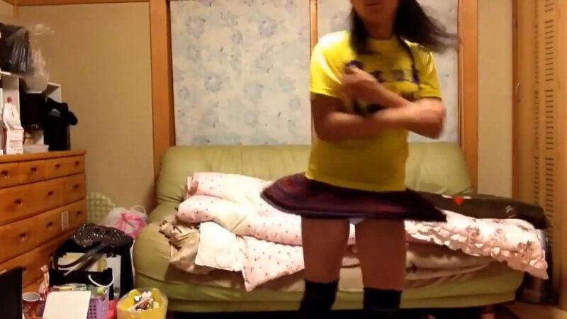 【まー】ハッピーシンセサイザ踊ってみた! 00:56