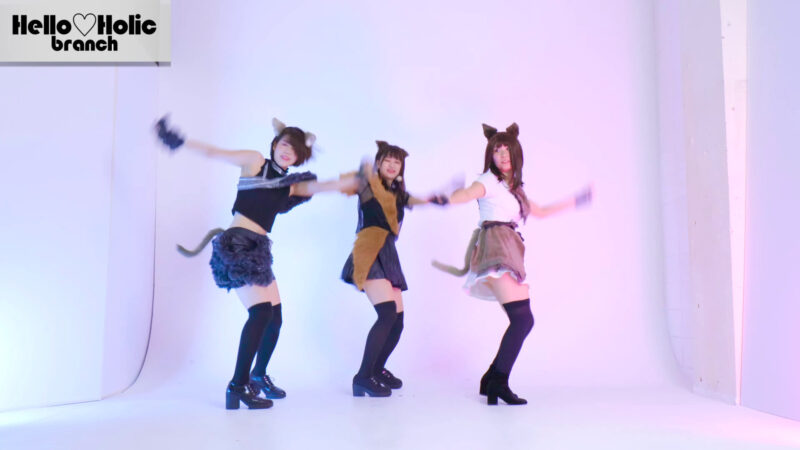 【モーニング娘。'16】セクシーキャットの演説 踊ってみた【Hello♡Holic】dance cover 01:06