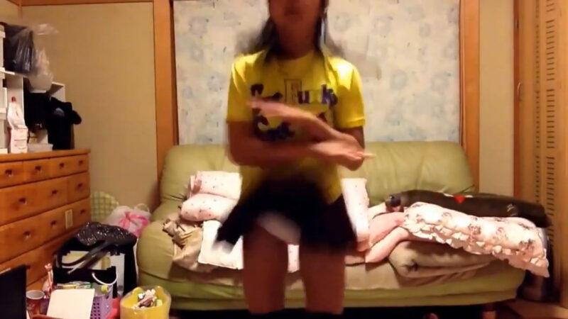 【まー】ハッピーシンセサイザ踊ってみた! 02:17