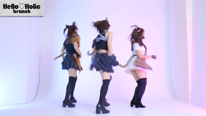 【モーニング娘。'16】セクシーキャットの演説 踊ってみた【Hello♡Holic】dance cover 03:09
