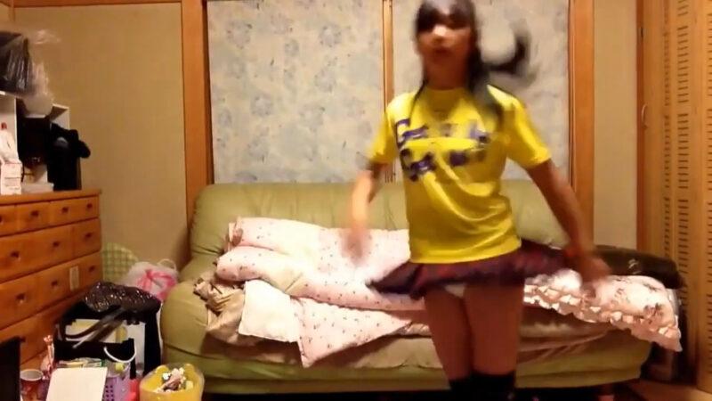 【まー】ハッピーシンセサイザ踊ってみた! 03:13-002