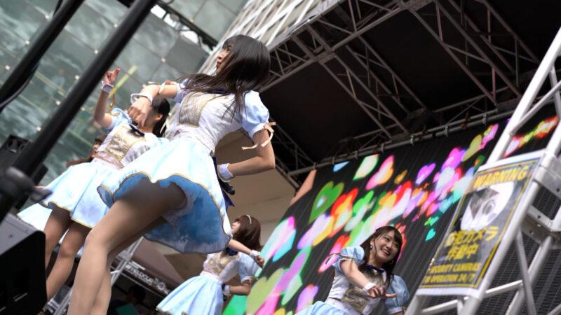"""【4K/α7Rⅲ/SEL55F18Z】アストレイア* (Japanese idol group """"ASTRAIA"""")渋谷パラダイス(シブパラ) 2019年4月29日(祝月) 13:29"""