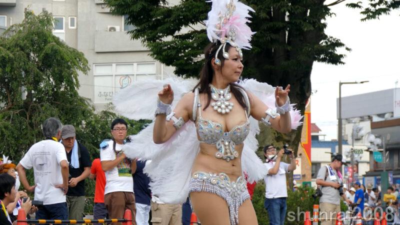 【4K】花小金井サンバフェスティバル 2017 07 16 Hanakoganei Samba Festival (1) ブロコ・アハスタォン Bloco Arrastao 07:50